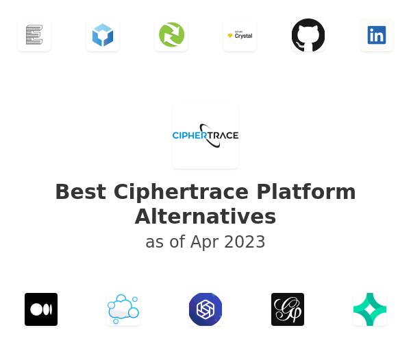 Best Ciphertrace Platform Alternatives