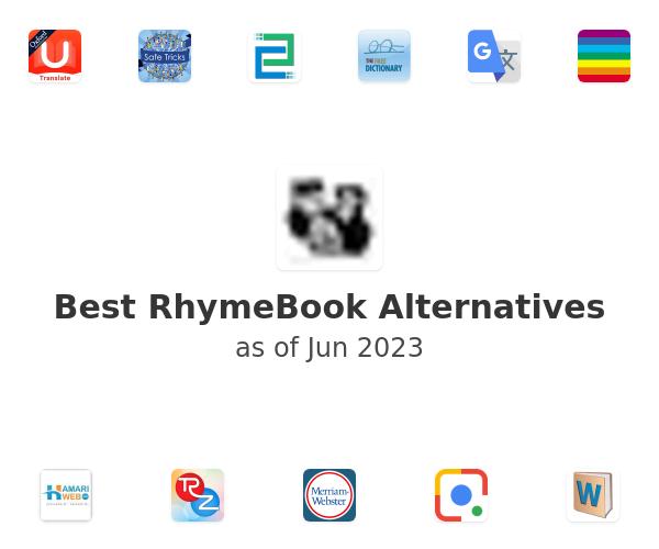 Best RhymeBook Alternatives