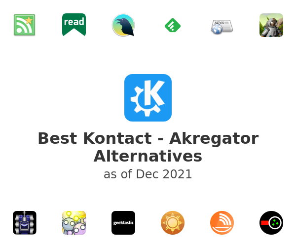 Best Kontact - Akregator Alternatives