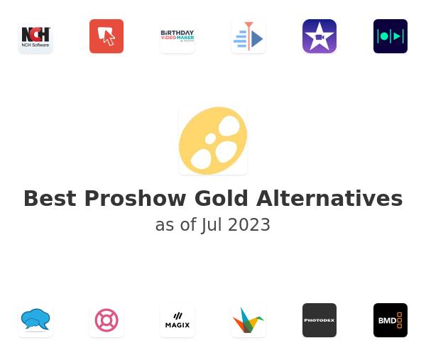 Best Proshow Gold Alternatives