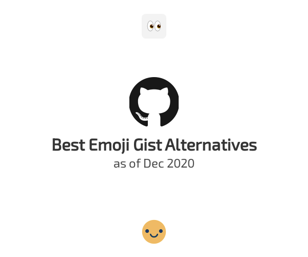 Best Emoji Gist Alternatives