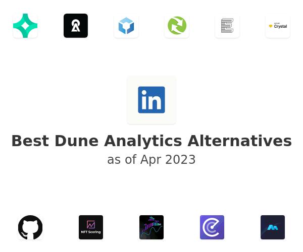 Best Dune Analytics Alternatives