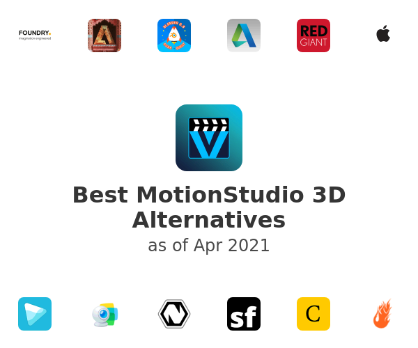 Best MotionStudio 3D Alternatives