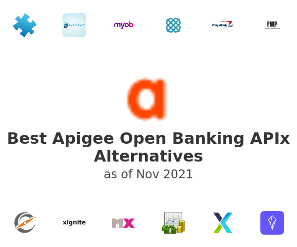 Best Apigee Open Banking APIx Alternatives