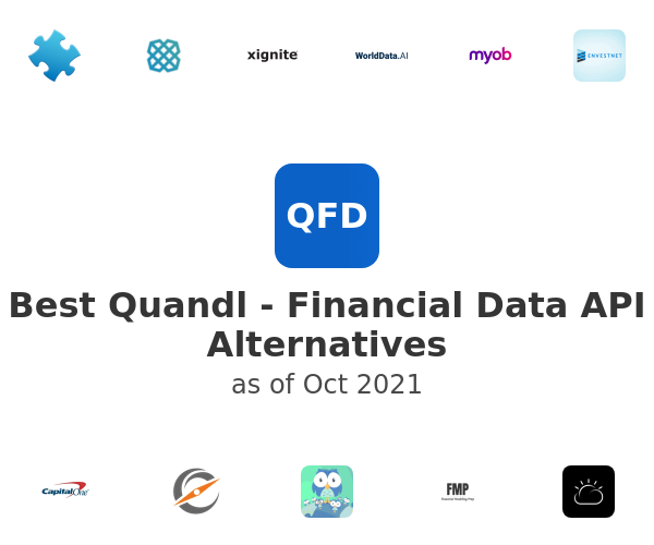 Best Quandl - Financial Data API Alternatives