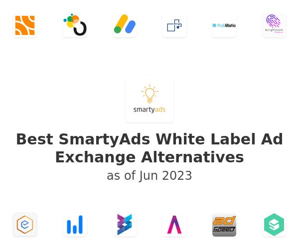 Best SmartyAds White Label Ad Exchange Alternatives