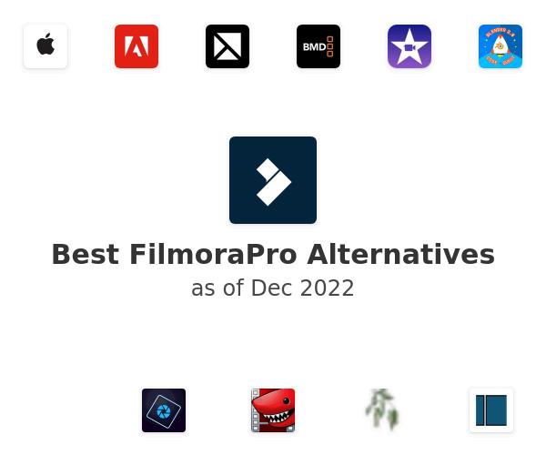 Best FilmoraPro Alternatives