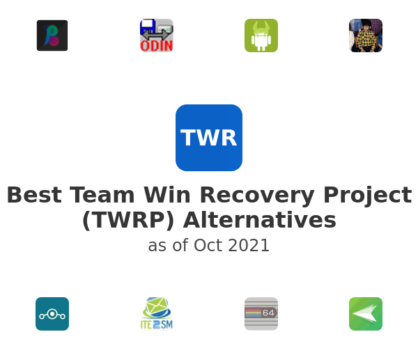Best Team Win Recovery Project (TWRP) Alternatives