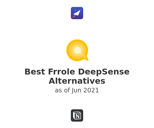 Best Frrole DeepSense Alternatives