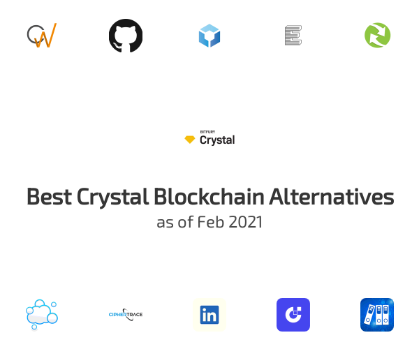 Best Crystal Blockchain Alternatives