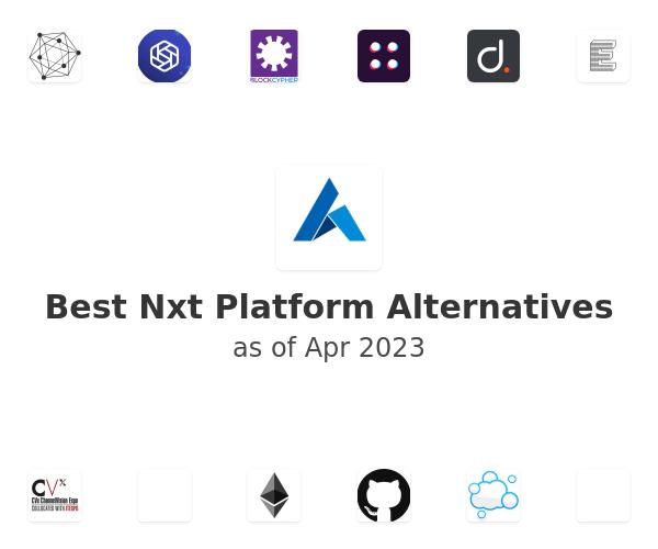 Best Nxt Platform Alternatives