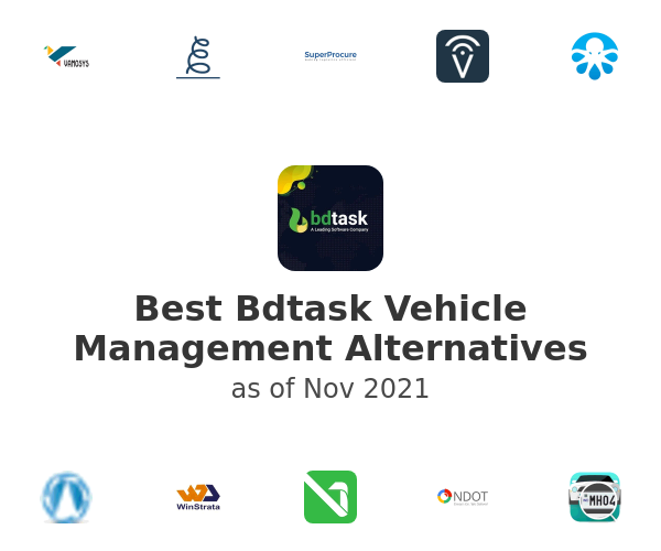 Best Bdtask Vehicle Management Alternatives