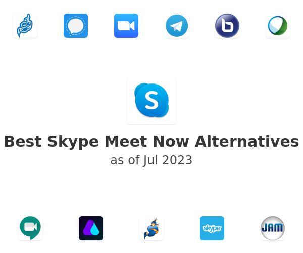 Best Skype Meet Now Alternatives