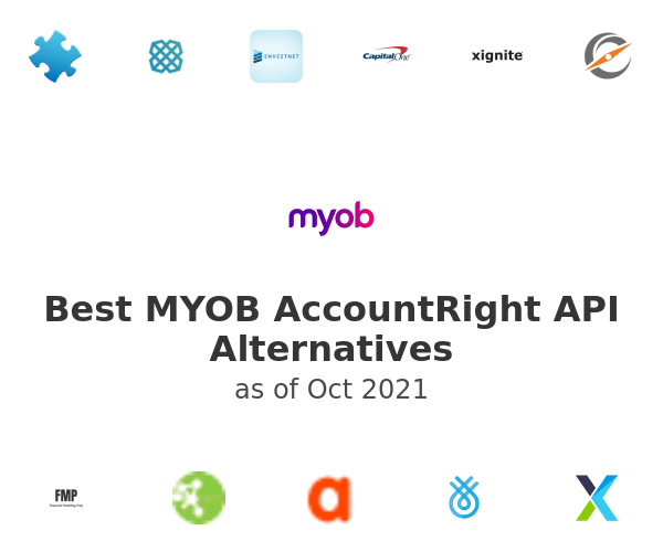 Best MYOB AccountRight API Alternatives