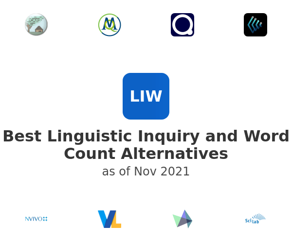 Best Linguistic Inquiry and Word Count Alternatives