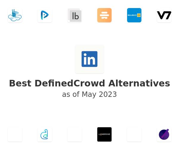 Best DefinedCrowd Alternatives