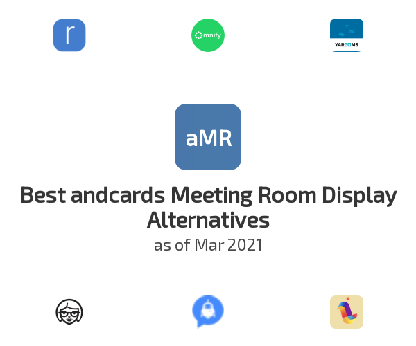 Best andcards Meeting Room Display Alternatives