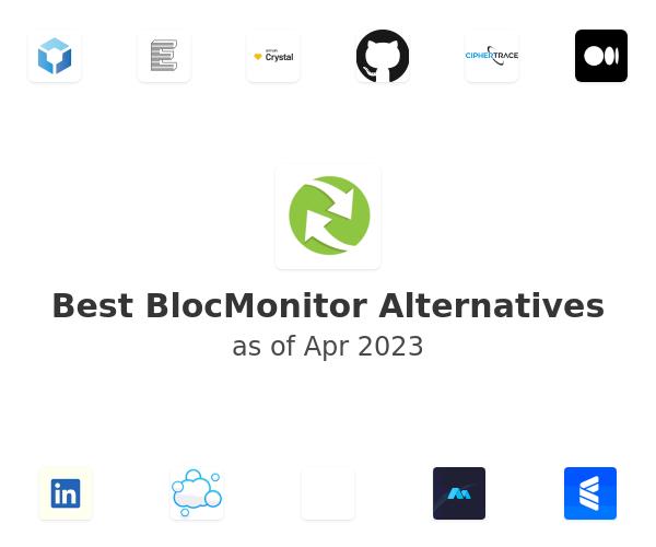 Best BlocMonitor Alternatives