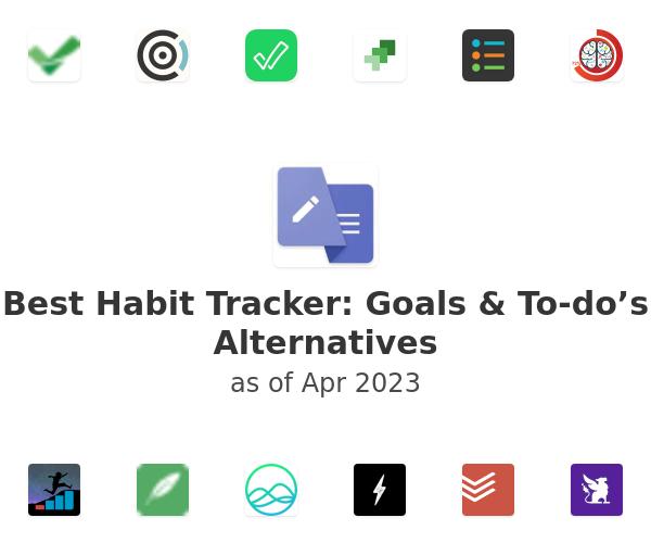 Best Habit Tracker: Goals & To-do's Alternatives