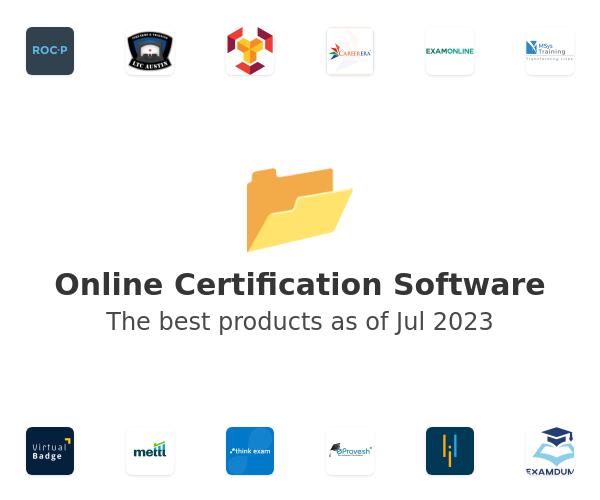 Online Certification Software