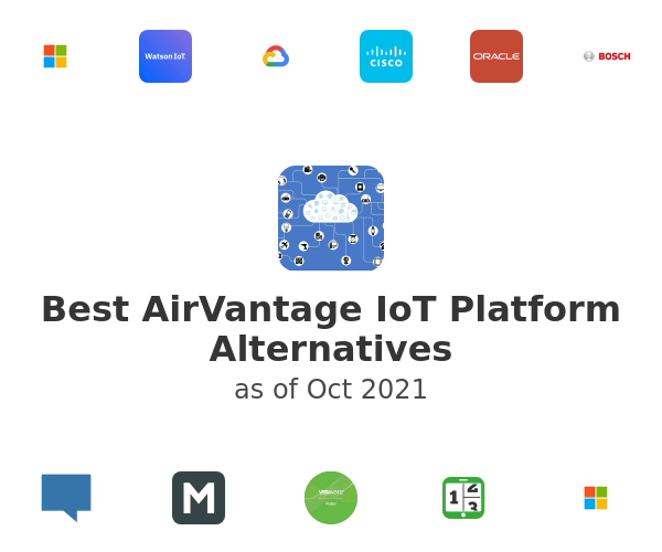 Best AirVantage IoT Platform Alternatives