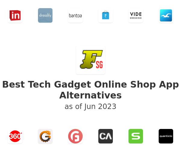 Best Tech Gadget Online Shop App Alternatives