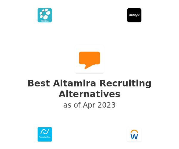 Best Altamira Recruiting Alternatives