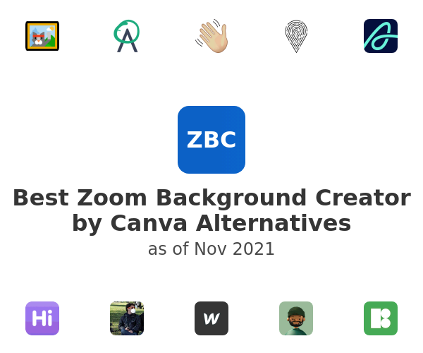Best Zoom Background Creator by Canva Alternatives