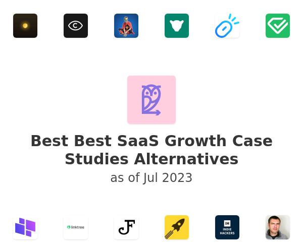 Best Best SaaS Growth Case Studies Alternatives