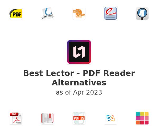 Best Lector - PDF Reader Alternatives