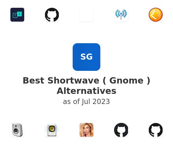 Best Shortwave ( Gnome ) Alternatives