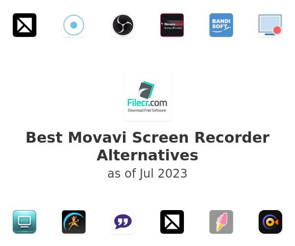 Best Movavi Screen Recorder Alternatives