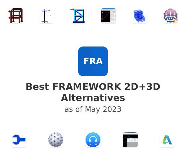 Best FRAMEWORK 2D+3D Alternatives