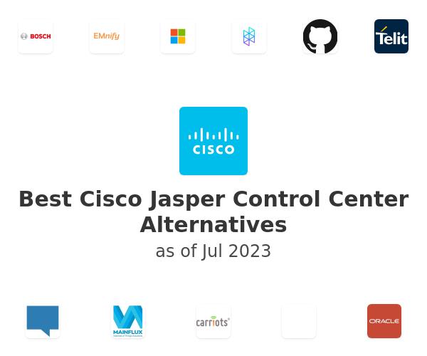 Best Cisco Jasper Control Center Alternatives