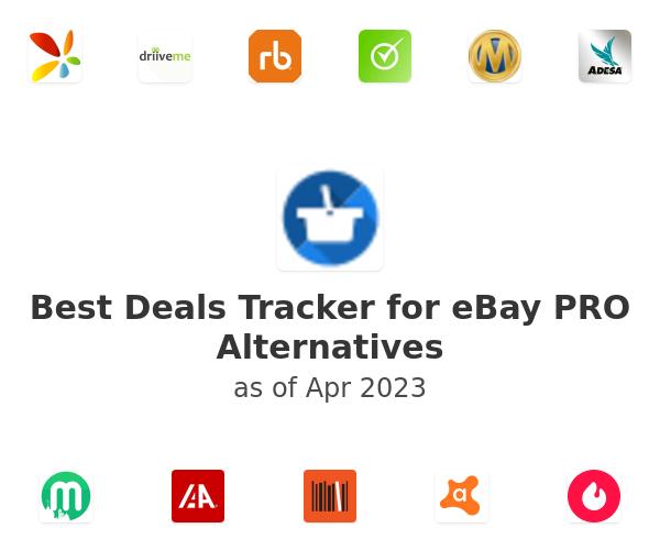 Best Deals Tracker for eBay PRO Alternatives
