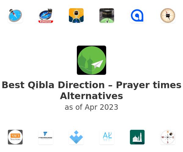 Best Qibla Direction – Prayer times Alternatives