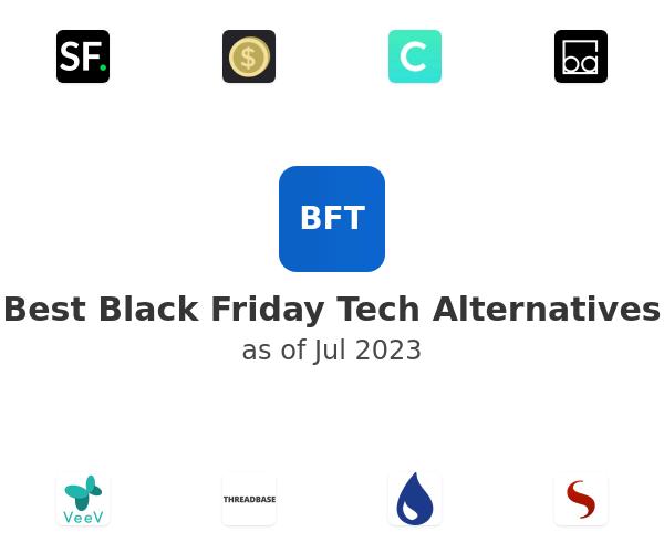 Best Black Friday Tech Alternatives