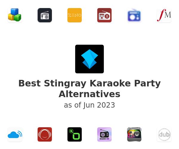 Best Stingray Karaoke Party Alternatives
