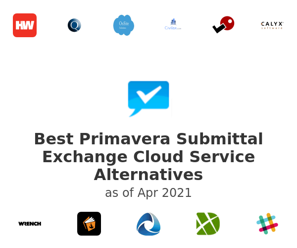 Best Primavera Submittal Exchange Cloud Service Alternatives