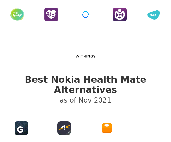 Best Nokia Health Mate Alternatives