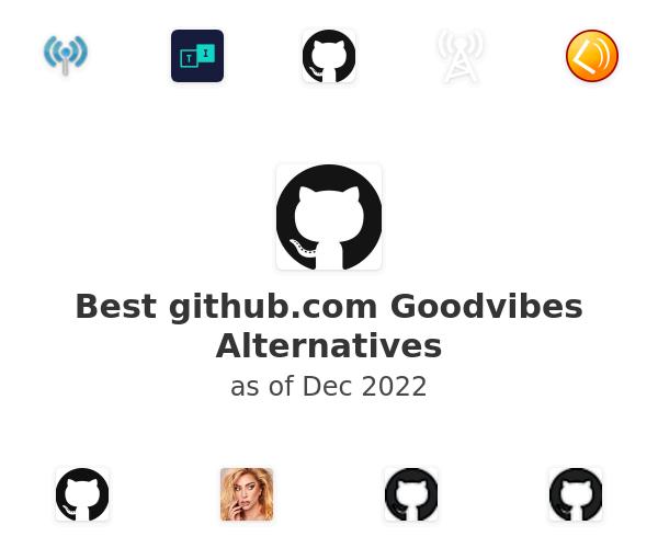 Best Goodvibes Alternatives