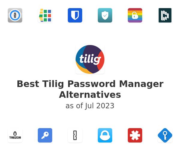 Best Tilig Password Manager Alternatives