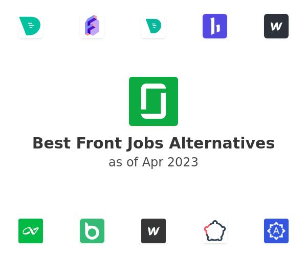 Best Front Jobs Alternatives