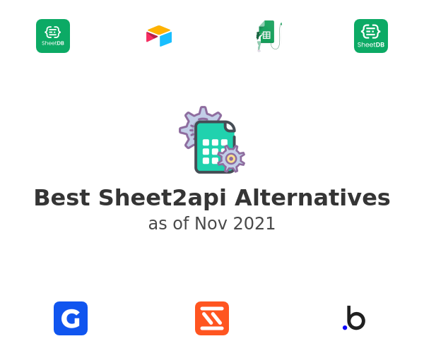 Best Sheet2api Alternatives