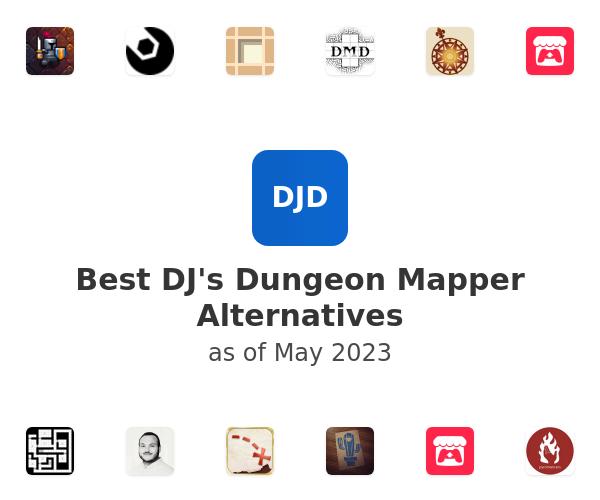 Best DJ's Dungeon Mapper Alternatives