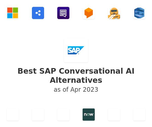 Best SAP Conversational AI Alternatives
