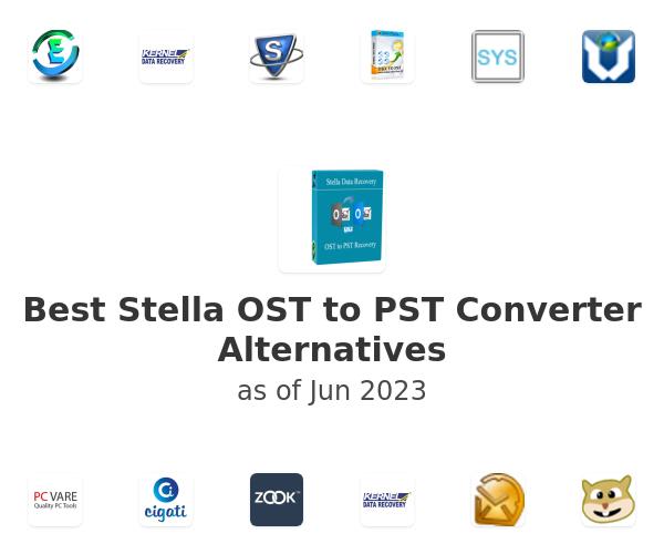 Best Stella OST to PST Converter Alternatives