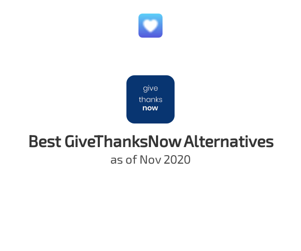 Best GiveThanksNow Alternatives