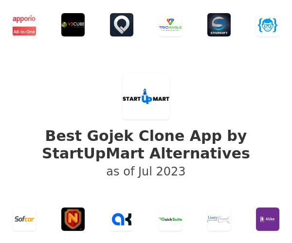 Best Gojek Clone App by StartUpMart Alternatives