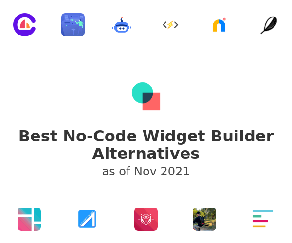Best No-Code Widget Builder Alternatives